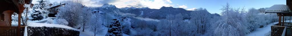 Panoramique en hiver